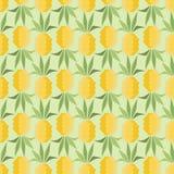 Ananasy w retro stylu ilustracja wektor