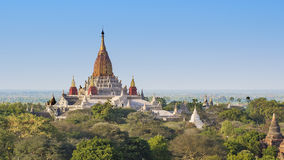 Ananda świątynia, Bagan Zdjęcie Stock