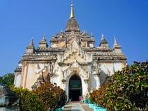 Ananda świątynia w Myanmar Zdjęcia Stock