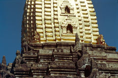 ananda bagan缅甸pahto stupa 图库摄影