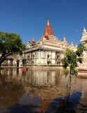 ananda bagan Myanmar prosta świątynia Zdjęcie Royalty Free