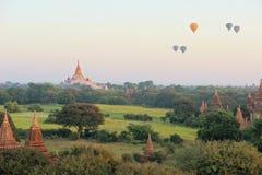 Ananda Buddhist Temple in Bagan, Myanmar Stock Images