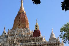 Ananda Buddhist Temple in Bagan, Myanmar Royalty Free Stock Images