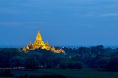 Ananda Pagoda royaltyfri bild