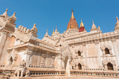 Ananda Pagoda Bagan antico (pagano), Mandalay, Myanmar immagini stock