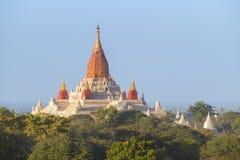 Ananda Pagoda em Bagan Myanmar Imagem de Stock
