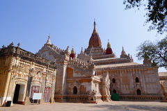 Ananda Pahto in Bagan. The Ananda Pahto is the biggest temple on the plains of Bagan, in Myanmar(Burma stock photos