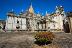 Ananda Pahto, Bagan, Myanmar. Royalty Free Stock Photos