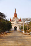 The Ananda Pahto in Bagan Stock Photos