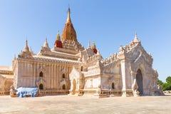 Ananda Phato, świątynia, arcydzieło Bagan, Myanmar obrazy royalty free