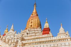 Ananda Phato, Tempel, Meisterwerk von Bagan, Myanmar stockfotografie