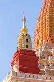 Ananda Phato, Tempel, Meisterwerk von Bagan, Myanmar stockbild