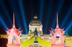 The Ananda Samakhom Throne Hall in Bangkok Stock Photos