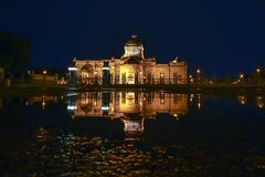 Ananda Samakhom Throne Hall. Shoot From Thanon Ratchadamnoen Stock Images