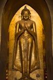 Ananda tempel - Bagan - Myanmar Royaltyfri Bild
