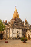 Ananda Temple. Old, ancient Buddhist temple Ananda, Bagan, Burma Royalty Free Stock Image