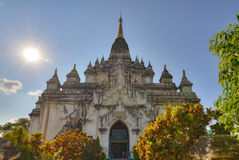 Ananda temple in Bagan Burma Royalty Free Stock Photo