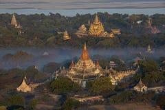 Ananda Temple - Bagan - il Myanmar fotografia stock