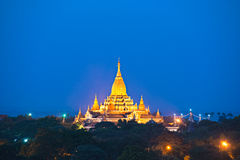 Ananda temple in bagan, Myanmar. Stock Photography