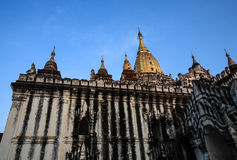 Ananda temple. In Bagan, Myanmar Royalty Free Stock Images
