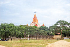Ananda Temple in Bagan Myanmar Royalty Free Stock Photography