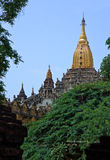 Ananda Temple, Bagan, Myanmar. Ananda temple has been built around 1105. It is considered to be one of the most surviving masterpiece of the Mon architecture and Royalty Free Stock Photography