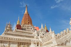 Ananda Temple in Bagan, Myanmar Royalty Free Stock Photos