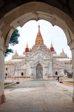 Ananda temple in Bagan , Myanmar Stock Photo