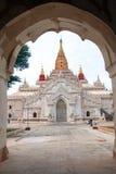 Ananda temple in Bagan , Myanmar Stock Photo