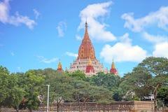 Ananda temple in Bagan, Myanmar. Royalty Free Stock Photography