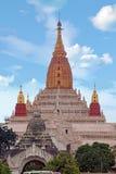 Ananda temple in Bagan, Myanmar. Stock Photography