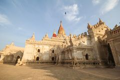 Ananda Temple, Bagan, Myanmar big temple Stock Images