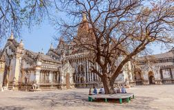 Ananda Temple Royalty Free Stock Photography