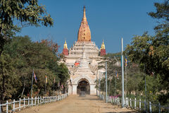 The Ananda temple in Bagan Stock Images