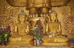 Ananda Temple in Bagan, Myanmar Stock Photos