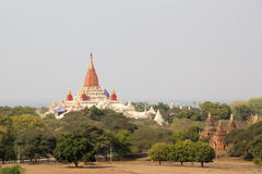 Ananda temple, Bagan, Myanmar Stock Photography