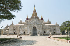 Ananda Temple on Bagan Plain, Myanmar Royalty Free Stock Photos