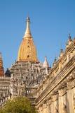 Ananda Temple on Bagan Plain, Myanmar, Burma Royalty Free Stock Photography