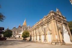 Ananda Temple on Bagan Plain, Myanmar, Burma Royalty Free Stock Image