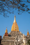 Ananda Temple on Bagan Plain, Myanmar, Burma Stock Photos