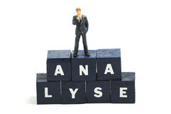 Ananlyse Royalty Free Stock Photos