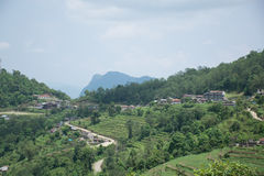Ananpurna pasmo górskie, Nepal zdjęcie stock