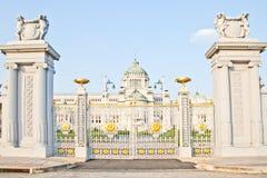 Ananta Samakhom biskopsstol Hall In Dusit Palace Arkivfoto