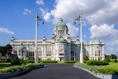 Ananta Samakhom pałac krajobraz Fotografia Royalty Free