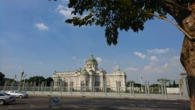 Ananta Samakhom Palace, The Ananta Samakhom Throne Hall. Bangkok, Thailand. Dusit Palace​ and blue sky Stock Photo