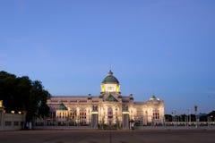 Ananta Samakhom slottlandskap i bangkok Royaltyfria Bilder
