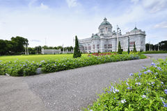 The Ananta Samakhom throne hall Stock Images