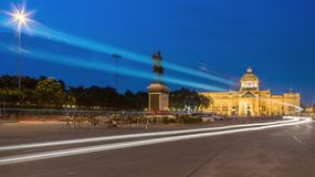 The Ananta Samakhom throne hall Royalty Free Stock Images