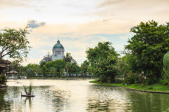 The Ananta Samakhom Throne Hall and Dusit Zoo Stock Photography
