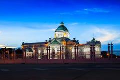 Ananta samakhom throne hall. At dusk, Bangkok Thailand Royalty Free Stock Image